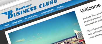 Bunbury Business Club Website